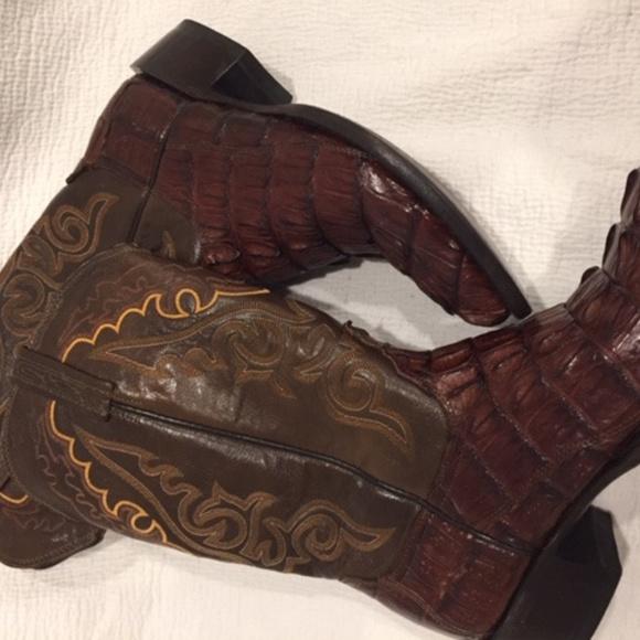 15121e845ba Lucchese T3187R4 - Homestead Crocodile Boots